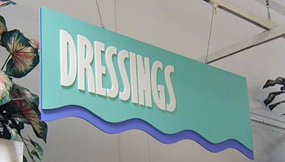 CNC Routed PVC sign letters