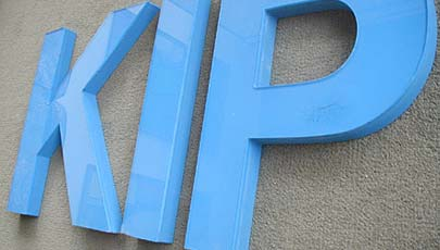 Routed Sign Letters - acrylic sign letters