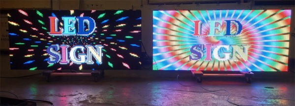 LED Signs - P-10 Full-Color LED Message Boards