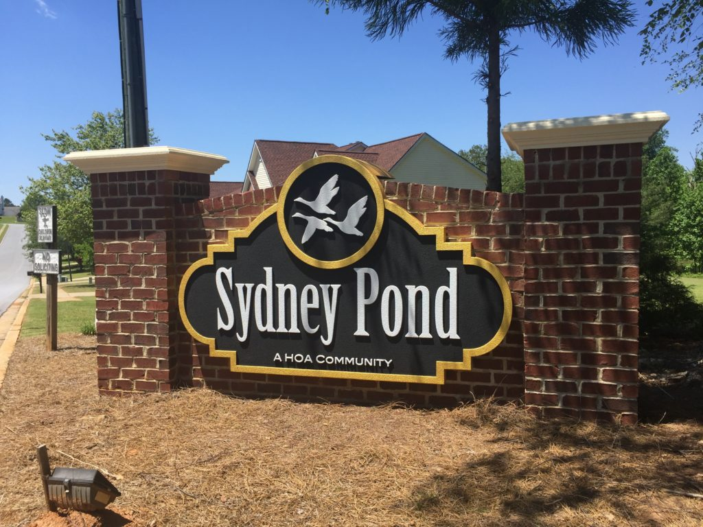 Updated Neighborhood Entrance Sign Monument - Neighborhood Entrance Sign Costs