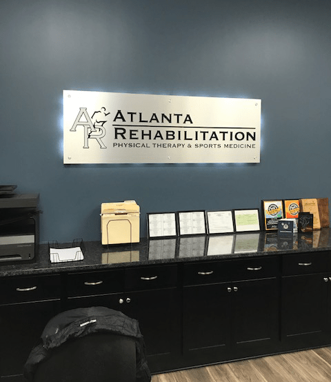 Atlanta Rehab Backlit Lobby Display