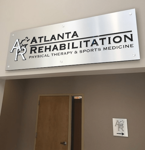 Atlanta Rehab Lobby Display