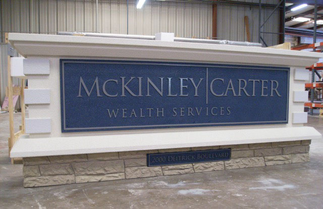 Monument Signs For Business - McKinley Carter Wealth Services