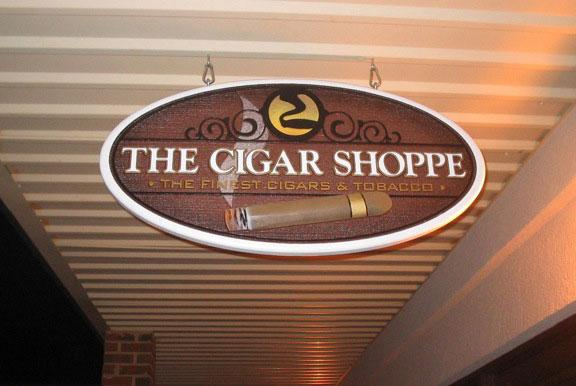 Business Signs Cigar Shoppe