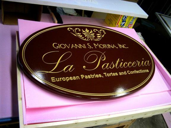 Business Signs La Pasticceria