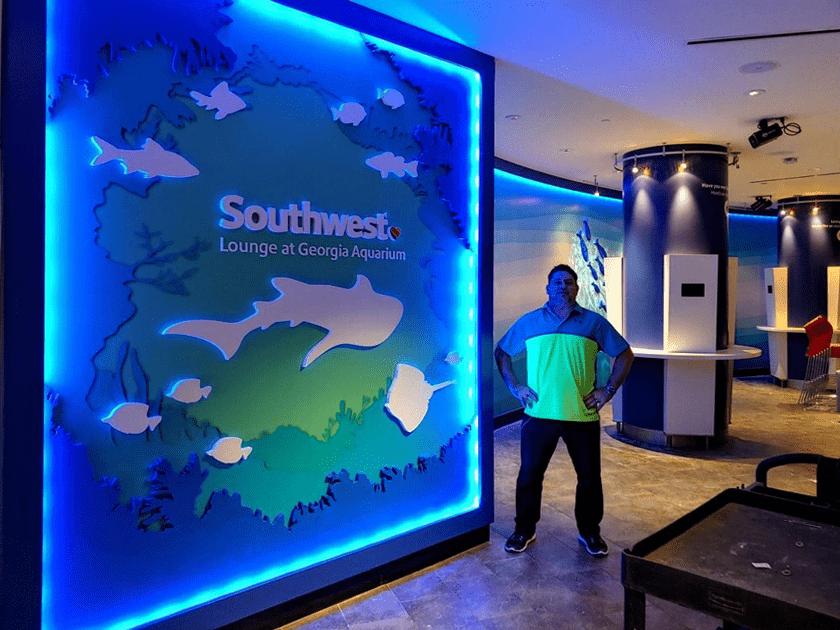 Georgia Aquarium Southwest_Lounge Complete - Wade Parker