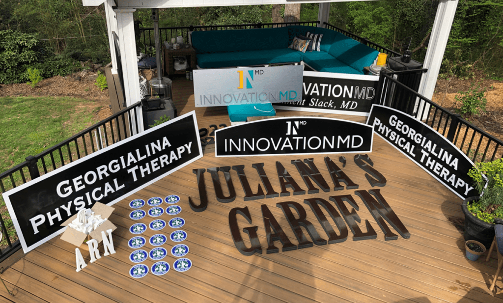 Sign Making At Home During COVID