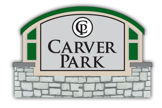 Stone Monument Signs - Carver Park - Sign Monument Design