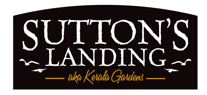 Recycle Existing Community Entrance Signs: Sutton's Landing New Logo Design
