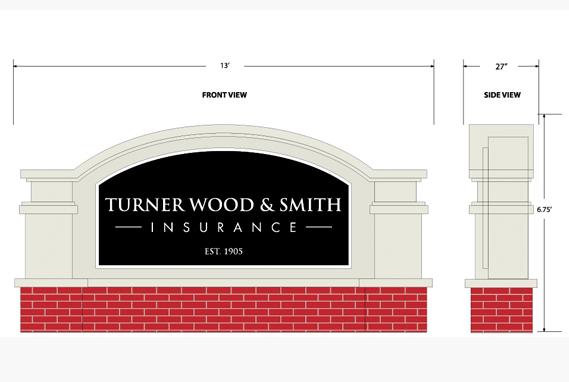 TWS Sign Monument Design