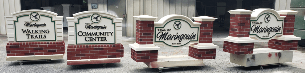 Town of Maringouin Sign Monuments