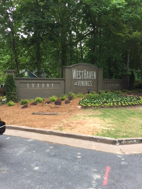 West Haven Apartment Complex Signs Entrance Monument Sign-1