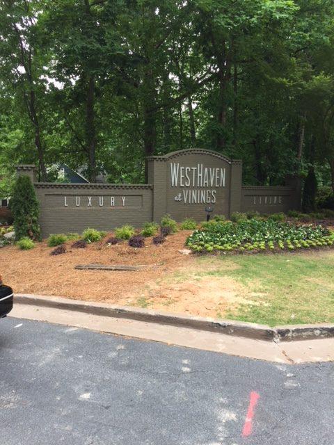 West Haven Apartment Entrance Monument Sign-1