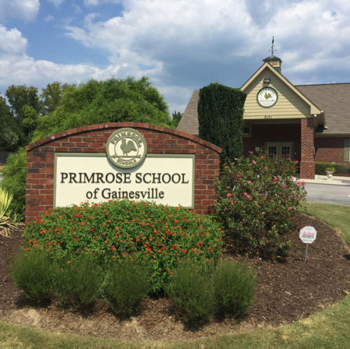 After - Primrose Schools Sign Monument