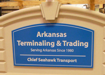 Arkansas Terminaling & Trading Sign
