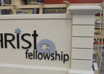 Christ Fellowship Monument Sign