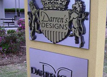 Darren's Designs Sign Monument