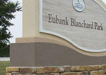 Eubank Blanchard Park Sign Monument