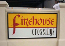 Firehouse Crossings Sign Monument