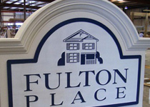 Fulton Place Sign Monument