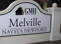 GMH Melville Sign Monument