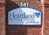 Heartland Hospice House Sign Monument
