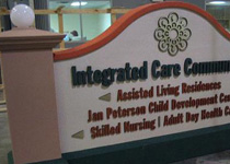 Integrated Care Assisted Living Sign Monument