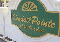 Kendall Pointe Sign Monument