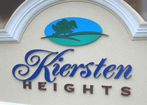 Kiersten Heights Sign Monument