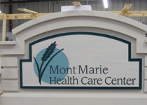 Mont Marie Health Care Center Sign