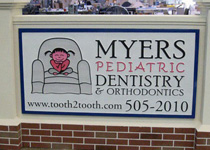 Myers Pediatric Dentistry Sign Monument