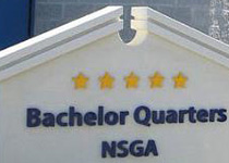 NSGA Bachelor Quarters Fort Meade Monument