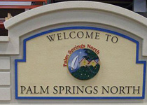 Palm Springs North Sign Monument
