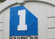 Square One Business Center Sign