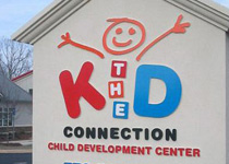 The Kid Connection Sign Monument
