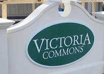 Victoria Commons Sign Monument