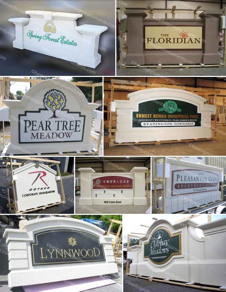 Best Sign Collage 03 - BestSignMonuments.com