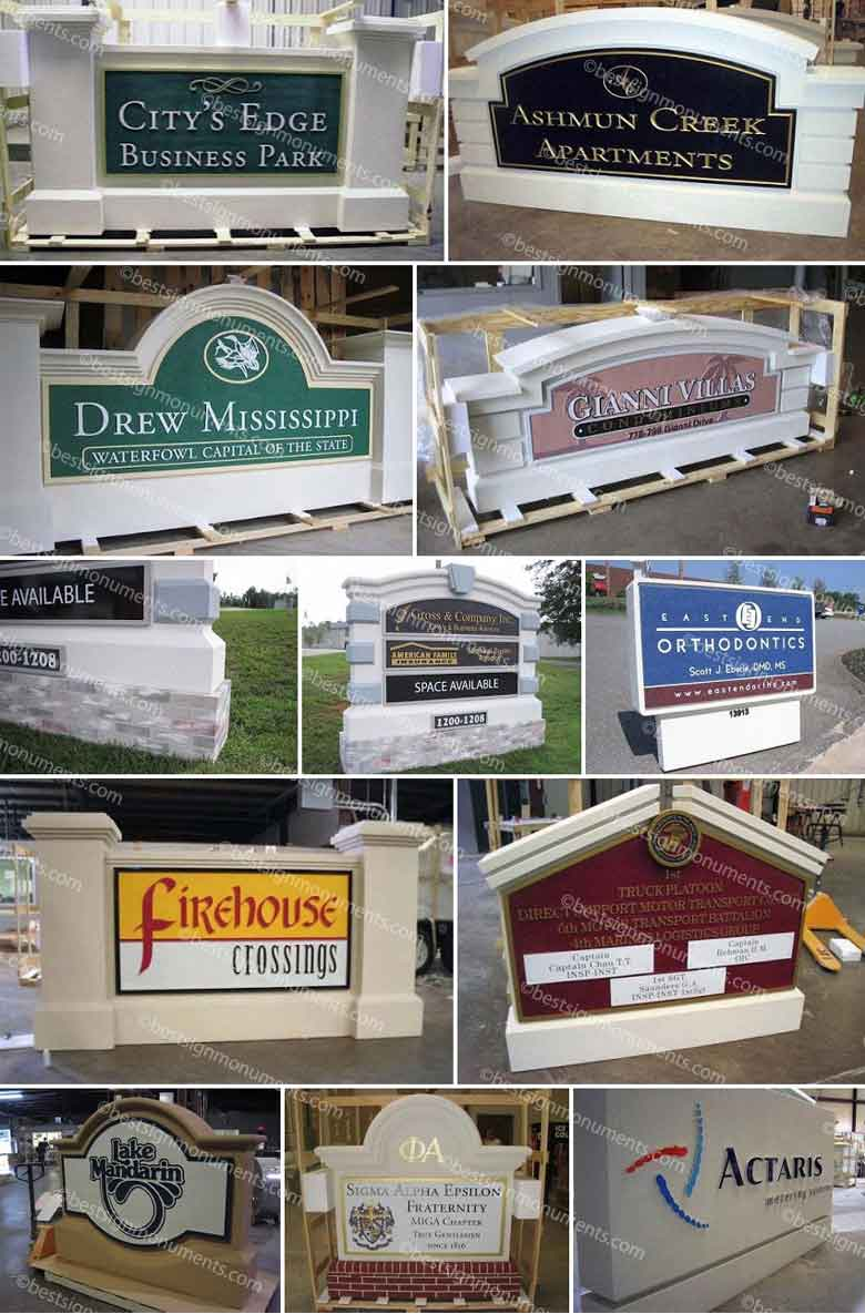 Best Sign Collage 26 - BestSignMonuments.com