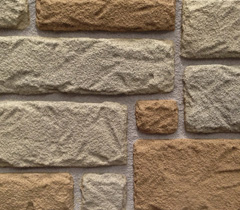 Faux Block Stone with Mortar